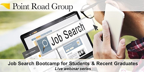 Job Search Bootcamp for Students & Recent Graduates (3-part series) tickets