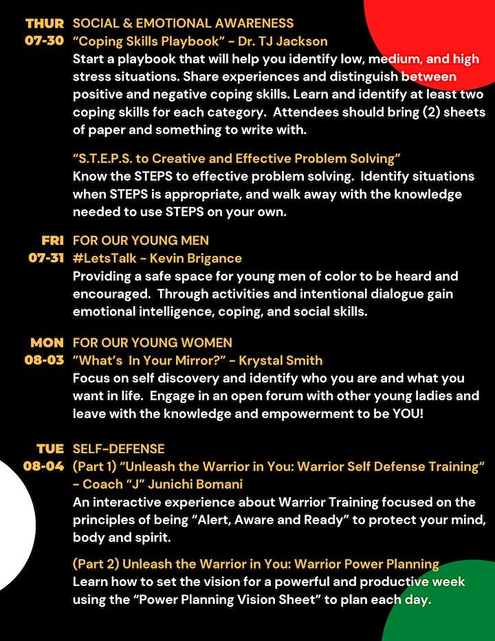 DFW Virtual Youth Enrichment Summit image