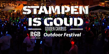Stampen is Goud RGB Outdoor Festival tickets