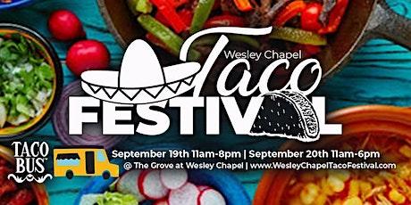 Wesley Chapel Taco Festival tickets