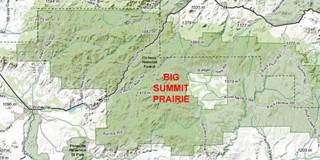 Big Summit Prairie Wildflower Hike tickets