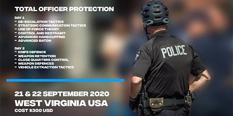 Total Officer Protection - Krav Maga Force tickets