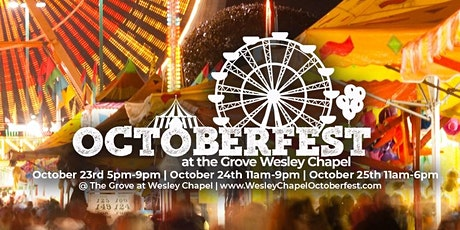 Octoberfest at the Grove Wesley Chapel tickets