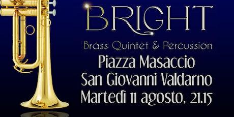 """CONCERTO DI MUSICA CLASSICA E POPOLARE DEL """"BRIGHT BRASS QUINTET OPERA"""" biglietti"""