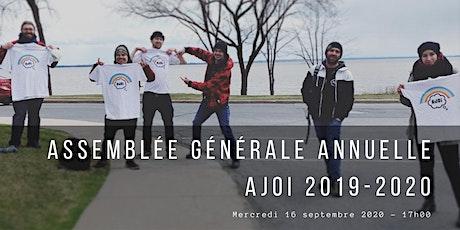 Assemblée Générale Annuelle AJOI 2019-2020 tickets