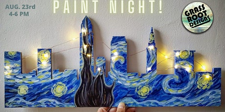 A Starry Night in CLE | Paint Party! tickets