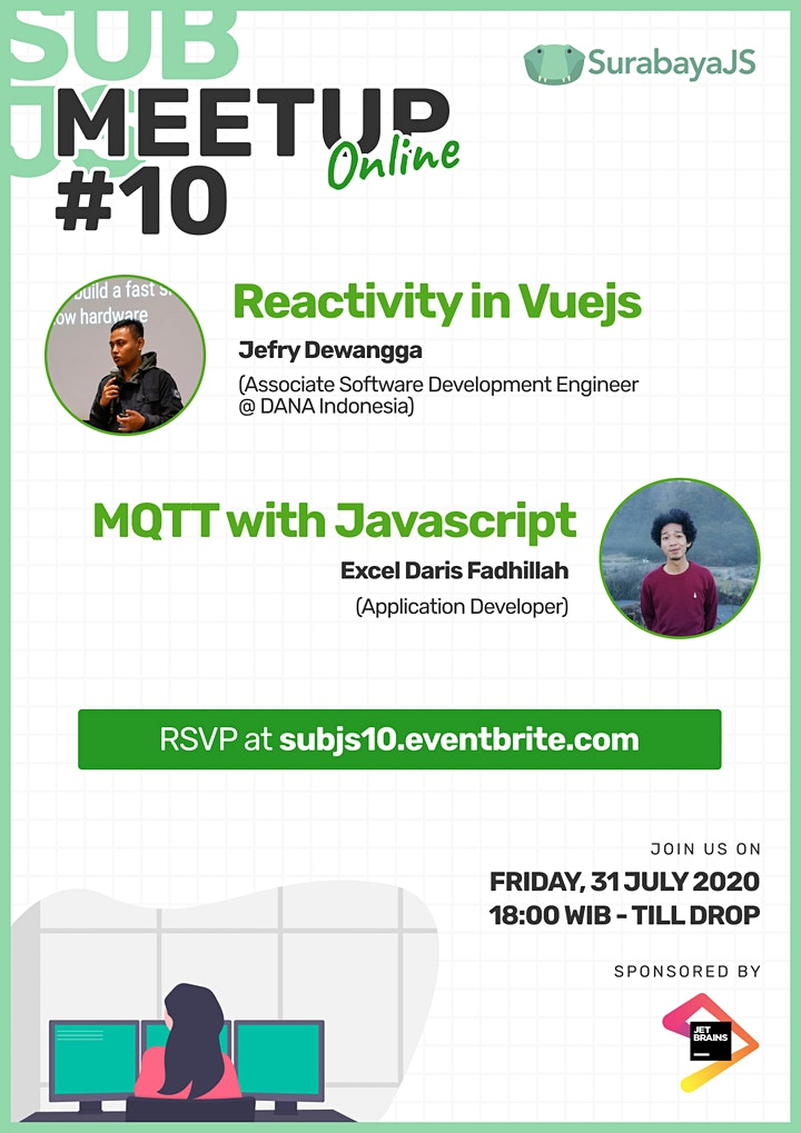 Meetup #10 - Reactivity in Vuejs and MQTT with JavaScript image