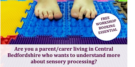 Online  Workshop An Introduction to Sensory Processing Session 2 tickets