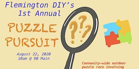Flemington DIY's 1st Annual Puzzle Pursuit tickets