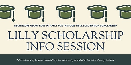 Lilly Scholarship Information Session tickets