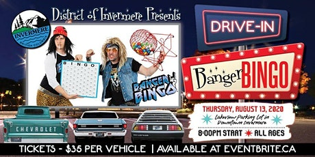 Drive In Banger Bingo tickets