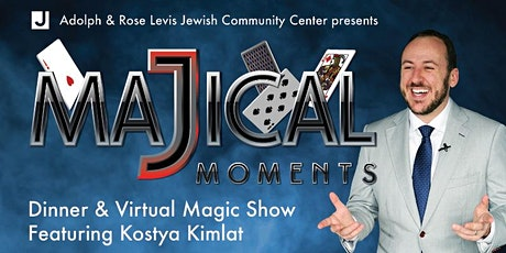 Levis JCC MaJical Moments- Dinner and Virtual Magic Show tickets