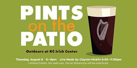 Pints on the Patio August 6 w/ Clayton HIcklin tickets