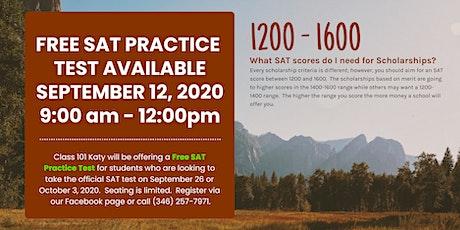 Free SAT Practice Test tickets