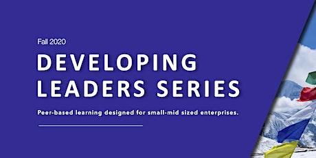 Developing Leaders Series - Fall 2020 Bundle tickets