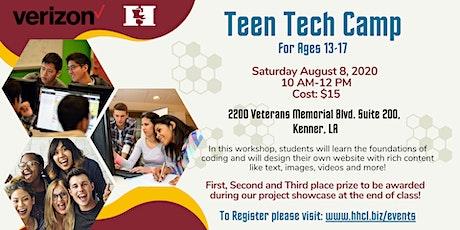 Teen Tech Camp 2020 tickets
