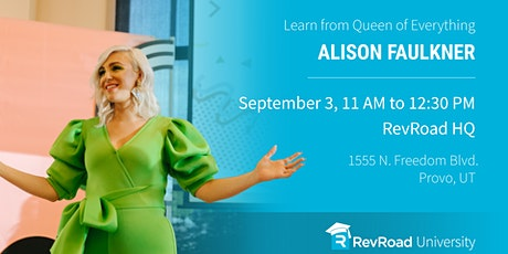 RevU with Alison Faulkner: Building a Brand to Attract Your Dream Audience tickets