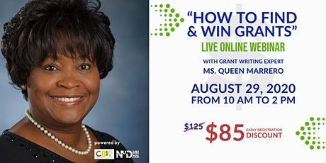 """How To Find and Win Grants"" Webinar tickets"