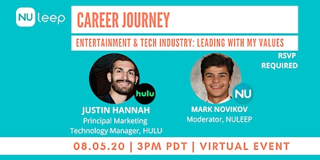 Career Journey Entertainment Industry:  Leading with My Values tickets