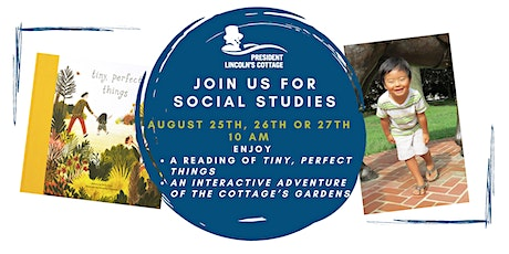 Social Studies: Tiny, Perfect Things tickets