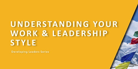 DLS - Understanding Your Work and Leadership Style (INSIGHT) tickets