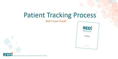 REDi HCC Patient Tracking Training: Don't Lose Track! tickets