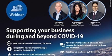 Free 30 minute weekly webinar for SME's tickets