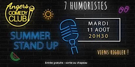 Angers Comedy Club - Mardi 11 août 2020 / Les Folies Angevines billets