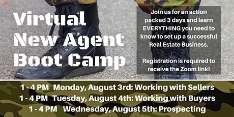 Virtual New Agent Boot Camp tickets