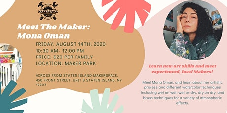 Meet the Maker: Mona Oman tickets