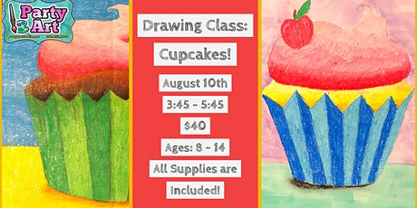 1 Day Drawing Class: Cupcakes! tickets