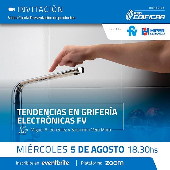 "Imagen de Video Charla ""Tendencias en Griferías Electrónicas"". Red Edificar"
