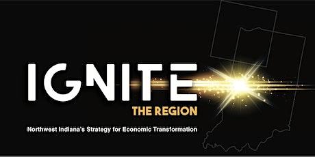 Ignite the Region Update Reception tickets
