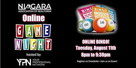 YPN Summer Game Night - BINGO Night! tickets