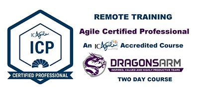 DragonsArm ICAgile Certified Professional Remote 2-Day Training