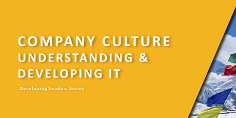 DLS - Company Culture (Understanding and Developing It) tickets