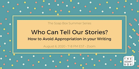 TSB Summer Series: Who Can Tell Our Stories? tickets
