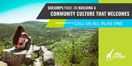 SheJumps Panel on Building a Community Culture that Welcomes tickets