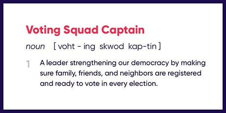 March For Science Voting Squad Captain Training tickets