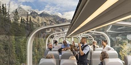 Rocky Mountaineer Virtual Presentation featuring Luxury Train Travel tickets