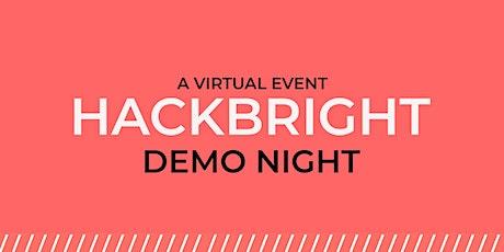 Hackbright Virtual Demo Night tickets