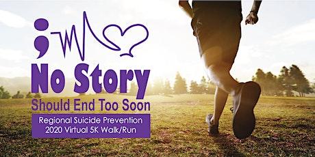 Regional Suicide Prevention Virtual 5K tickets