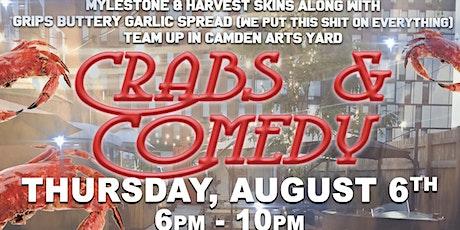 Crabs & Comedy tickets