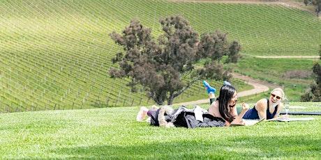 Double Zen: Yoga + Wine (re)treats tickets