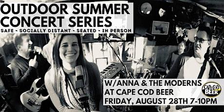 Outdoor Summer Concert Series: Anna & the Moderns tickets