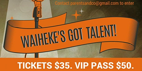 Waiheke's Got Talent (WPS) - R18 tickets