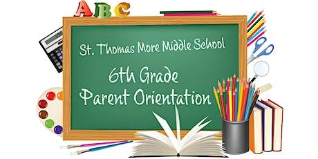 STM MS 6th Grade Orientation tickets