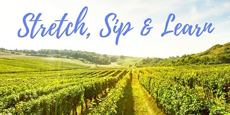 Stretch, Sip & Learn at Flat Rock Cellars tickets