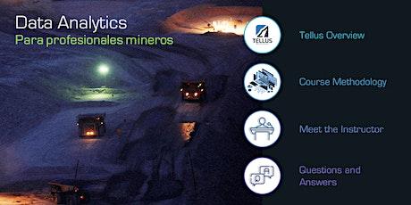 Curso de Analítica de Datos - Profesionales Mineros tickets