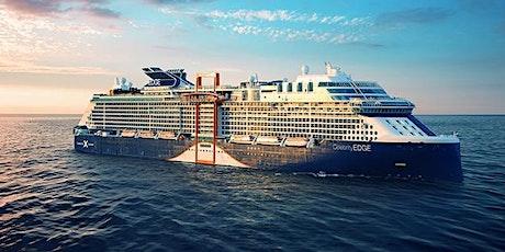 Celebrity Cruises Virtual Travel Presentation Featuring Utilizing FCC's tickets